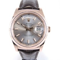 Rolex Day-Date or rose 118135 Full set