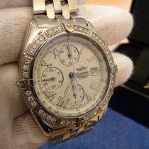 Breitling Chronomat Crosswind mit Diamant-Lünette
