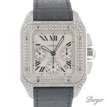 Cartier Santos 100 Chrono Diamonds