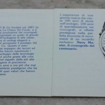 Eberhard & Co. vintage booklet for chrono navy master...