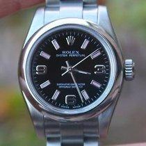 Rolex Ladies No Date Black Pink Bar Mn 176200 Z Sn 2007