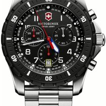 Victorinox Swiss Army Maverick Sport Quartz Chronograph Steel...