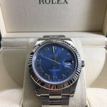 Rolex NEW DateJust II Stainless Steel Blue Roman Dial 116334