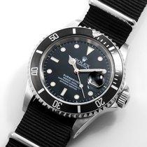 勞力士 (Rolex) SS 40mm Submariner Black Dial Textile NATO Strap...
