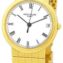 "Patek Philippe Gent's 18K Yellow Gold  Ref # 3802 ""Cal..."