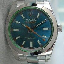 Rolex MILGAUSS ANTIMAGNETIC 116400GV BLUE