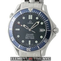 Omega Seamaster 300 M Chronometer Steel Blue Dial 41mm Circa 2006