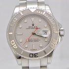 勞力士 (Rolex) Rolex Yacht Master / Steel and Platinum Bezel