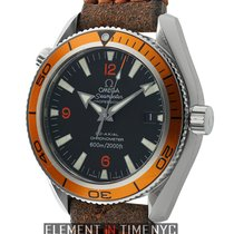 Omega Seamaster Planet Ocean 42mm Stainless Steel Orange Bezel...