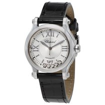 Chopard Happy Sport Silver-Toned Dial Ladies 278573-3001