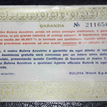 Bulova vintage warranty accutron model  rare 1973