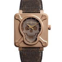 Bell & Ross BR01 Skull Bronze Limited Edition New-Full Set