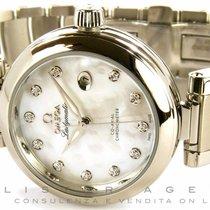 Omega De Ville Ladymatic Co-Axial Chronometer in acciaio