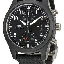 IWC Pilot Top Gun Chronograph Black Dial Black Fabric IW388007