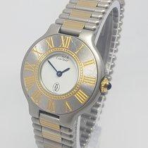 Cartier Must De Cartier Retro Ladies Watch 28mm 1991 Full Set