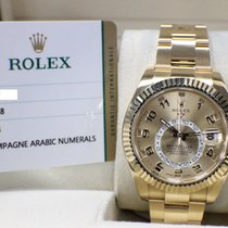 Rolex Skydweller 42MM 18K Yellow Gold Box & Papers