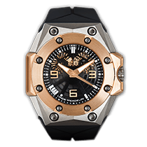 林德 (Linde Werdelin) Oktopus Double Date Rose Gold