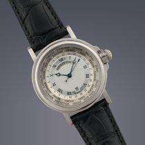 Breguet Marine 'Hora Mundi' World Time 18ct White Gold...