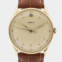 Gübelin 14K Yellow Gold Dresswatch