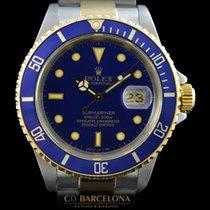 Rolex Submariner 16613  Blue Steel & Gold Top Condition