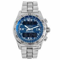 Breitling B-1 Analog Digital Quartz Chronometre Watch A7836215...