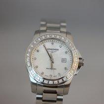 Longines Conquest Lady 29,5mm Diamanten Quarz FULLSET