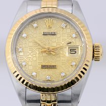 Rolex Datejust Lady Stahl/Gold Jubilé Dial Diamonds Sonderblat...