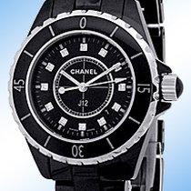 "Chanel ""J 12"" Diamond Fashion Watch."