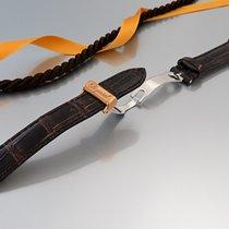 """Chopard """"Faltschließe 18K/750 und Kroko-Lederband für..."""