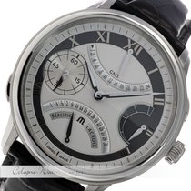 Maurice Lacroix Masterpiece Double Retrograde GMT Stahl...