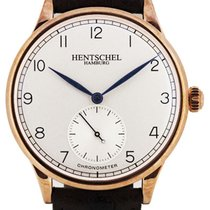 Hentschel Hamburg H1 Chronometer Rose Gold / Bronze, 37mm