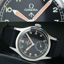 Omega Military Winding 30T2 Side Second Steel Mens Watch Y23299