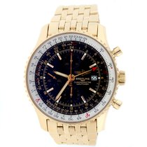 Breitling Navitimer World Rose Gold Special Edition 46MM Watch...