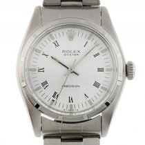 Rolex Oyster Precision Stahl Handaufzug Armband Oyster 35mm...