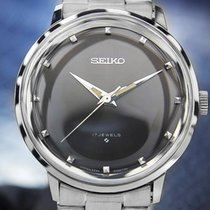 Seiko Vintage Manual 1960s Mens Wind Dress Watch 6220-8990...