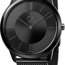 ck Calvin Klein Minimal K3M214B1 Herrenarmbanduhr Swiss Made
