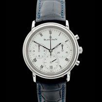 Blancpain Villeret Chronograph - Ref.: 1185 - Box/Papiere -...