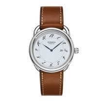 Hermès Arceau Quartz GM 38mm Midsize Watch Ref AR5.710.130/VBA