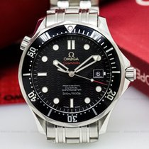 Omega 212.30.41.20.01.002 Seamaster Professional Black Dial...