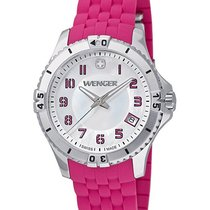 Wenger Womens Squadron Watch - Mother of Pearl Dial  Pink...