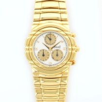 Piaget Yellow Gold Tanagra Chronograph Watch