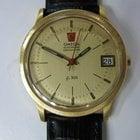 Omega Electronic Chronometer 18k C1974 Vintage Watch Su...