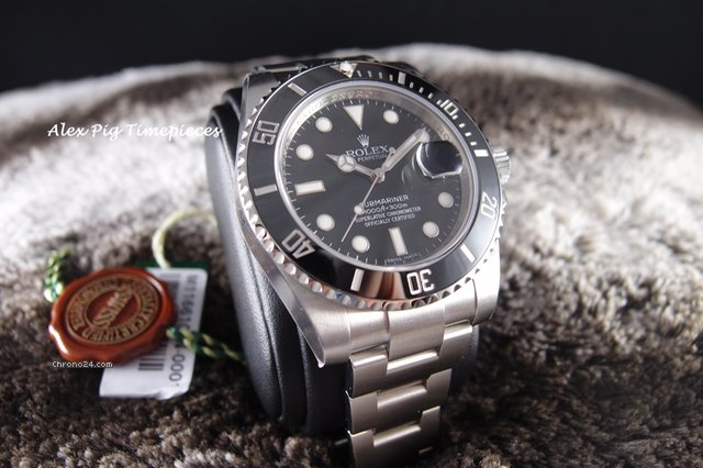 Rolex 116610LN Submariner CERAMIC Black Dial [N E W]