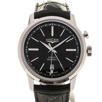 Vulcain 50s Presidents' Watch 42 Cricket President Black...