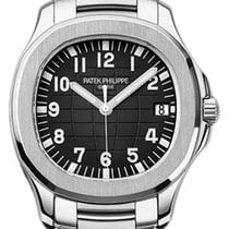 Patek Philippe 5167/1A-001 Aquanaut 40mm Black Embossed Arabic...