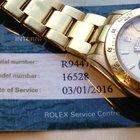 Rolex Daytona R series 16528 18K Yellow Gold two year warranty