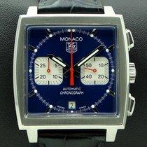 TAG Heuer Monaco, Steve McQueen, Blue Dial, ref. CW 2113