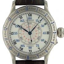 Longines Lindbergh Hour Angle Watch Stahl Automatik 48mm