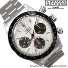 Rolex Cosmograph 6263 Daytona Big Red silver dial Full Set 1978