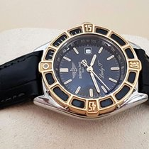 Breitling Lady J-Class Gold Steel Black Dial 30 mm (1998)